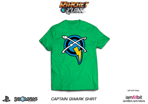 Captain Qwark Shirt (Ratchet & Clank)