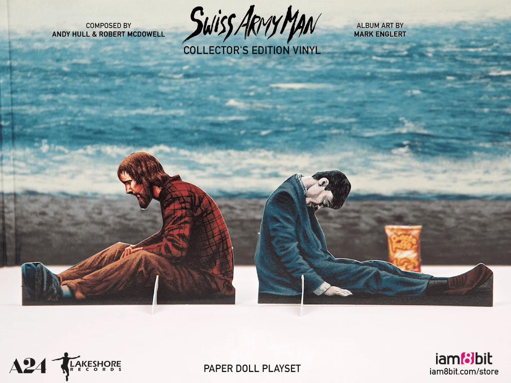 Swiss Army Man Collector S Edition Vinyl Iam8bit