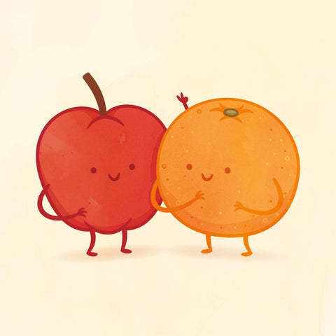 Apple and Orange by Philip Tseng