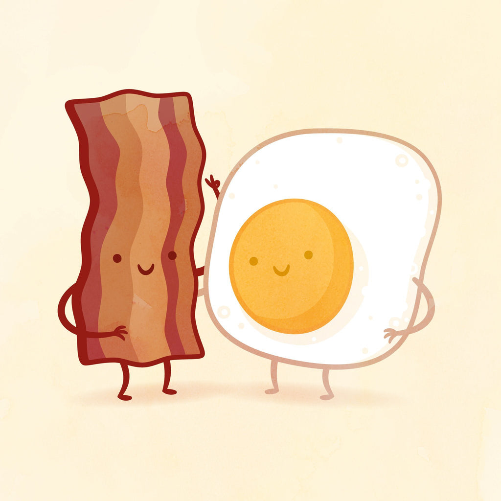 Bacon and Egg by Philip Tseng