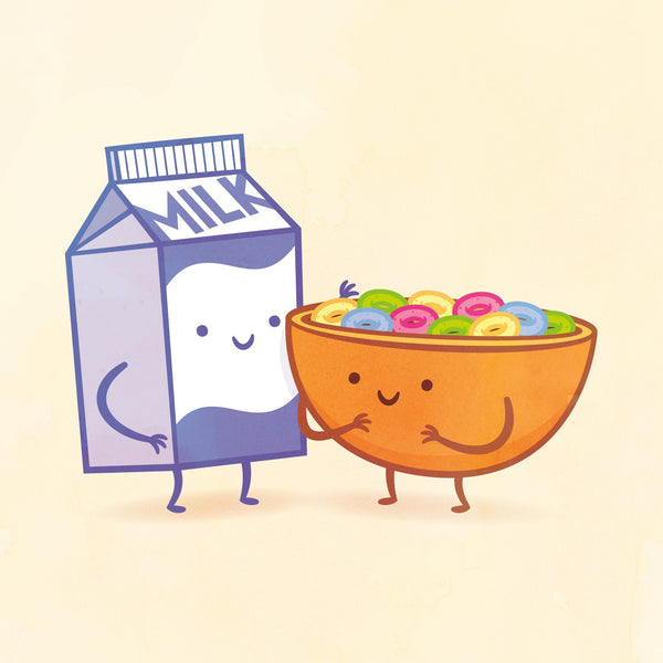 Milk And Cereal By Philip Tseng Iam8bit