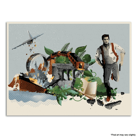 Uncharted Limited Edition Giclée Fine Art Print