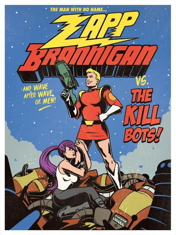 Zapp Brannigan VS the Kill Bots by Aled Lewis