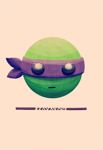 My Favorite is Donatello by Nan Lawson