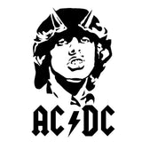 ACDC Face Singer