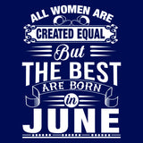 All women are created equal but