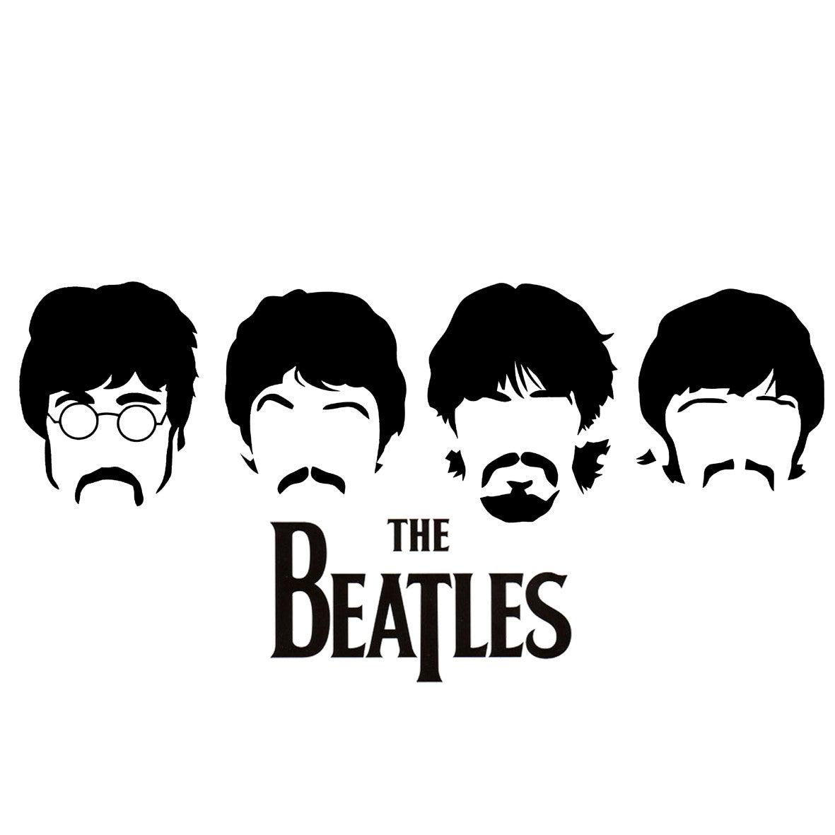 Beatles Faces CENTRAL T SHIRTS