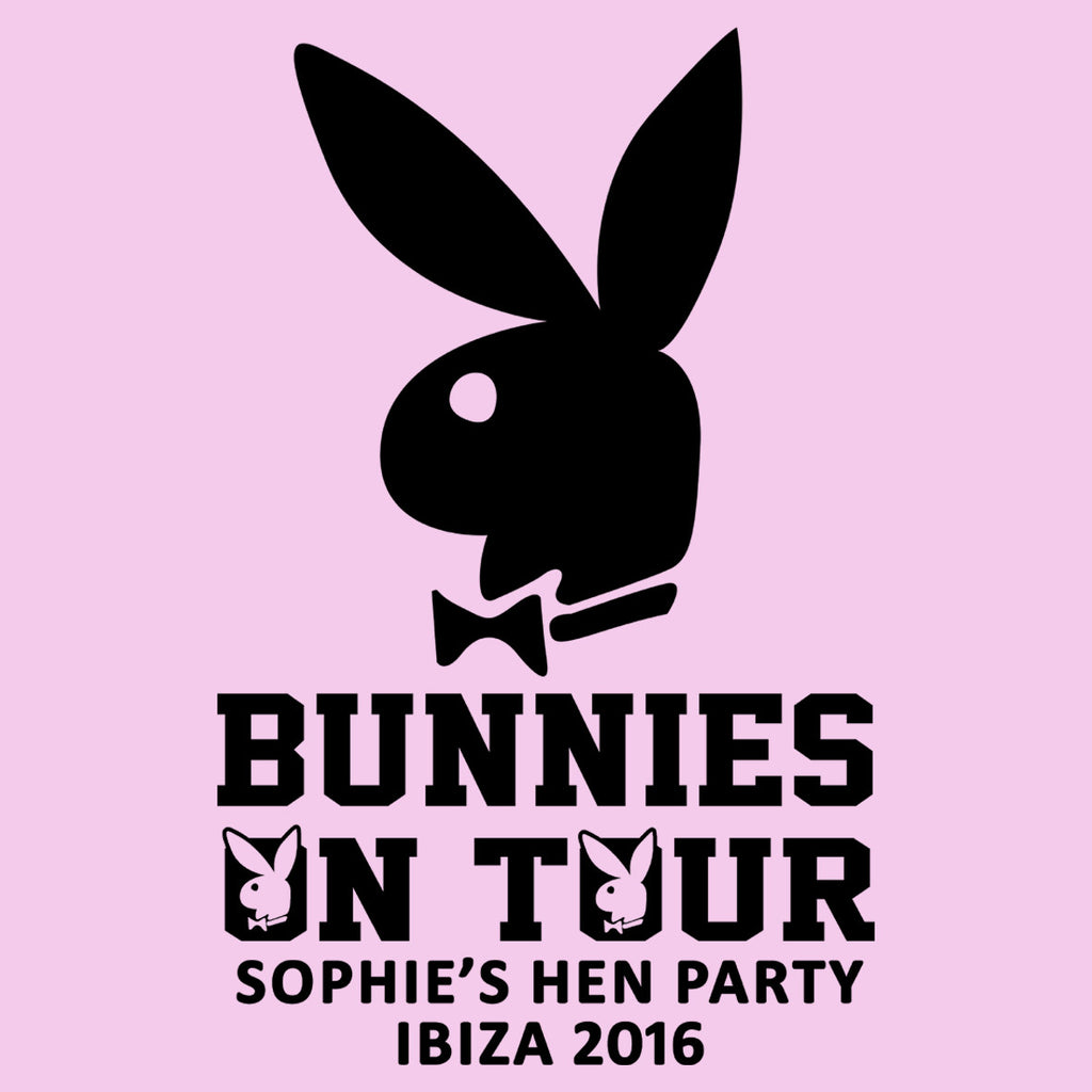 Bunnies On Tour Hen Design