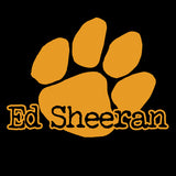 Ed Sheeran Big Paw