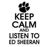 Ed Sheeran Keep Calm