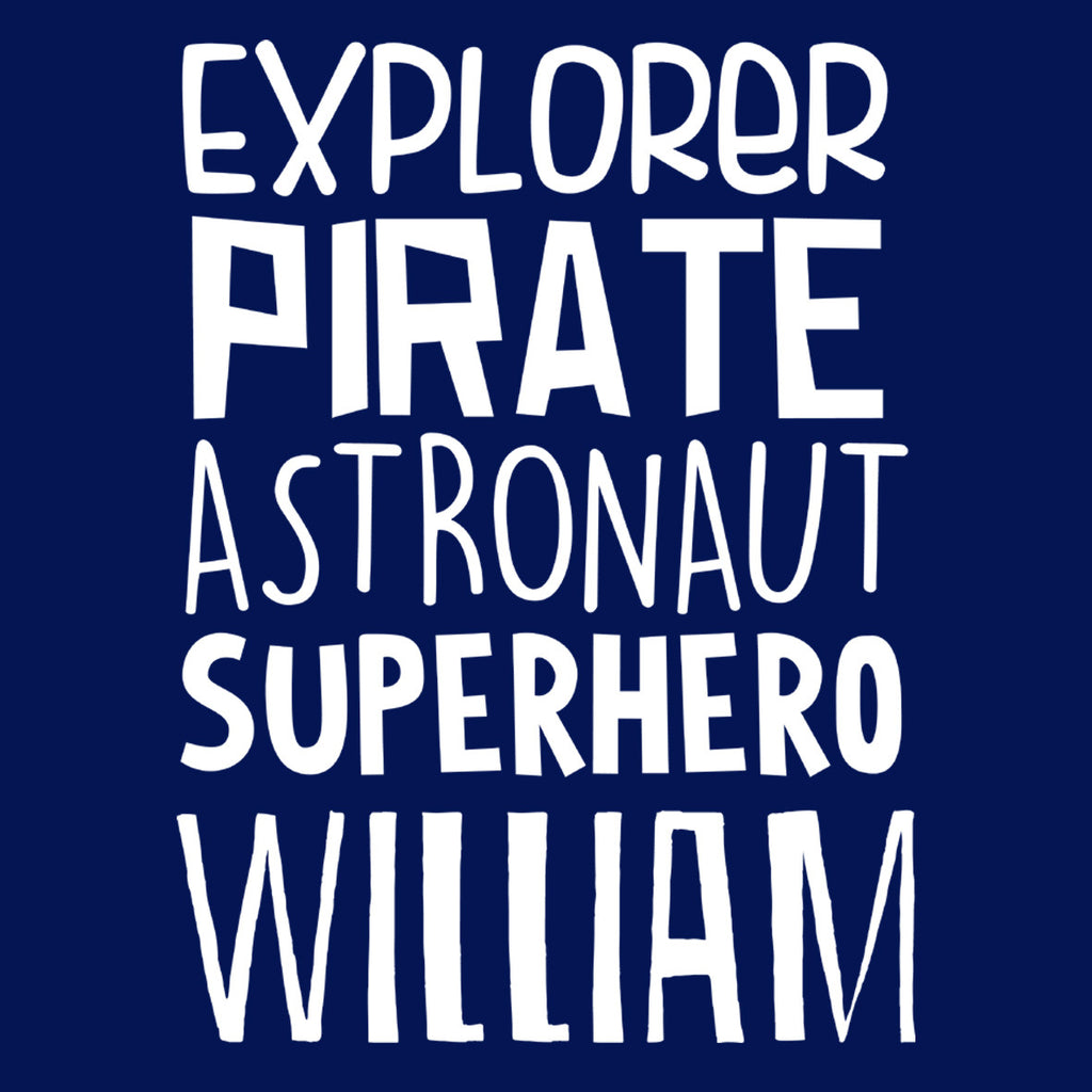 Explorer Pirate Astronaut Superhero