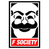 Mr Robot F Society