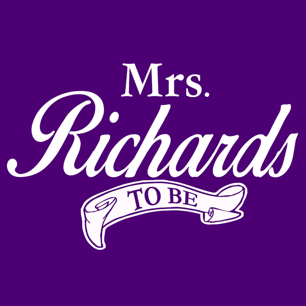 Mrs Name To Be