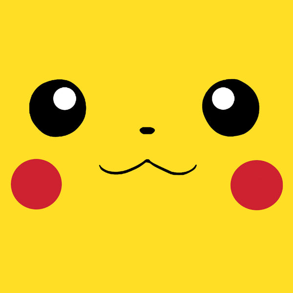 Pikachu Face Central T Shirts