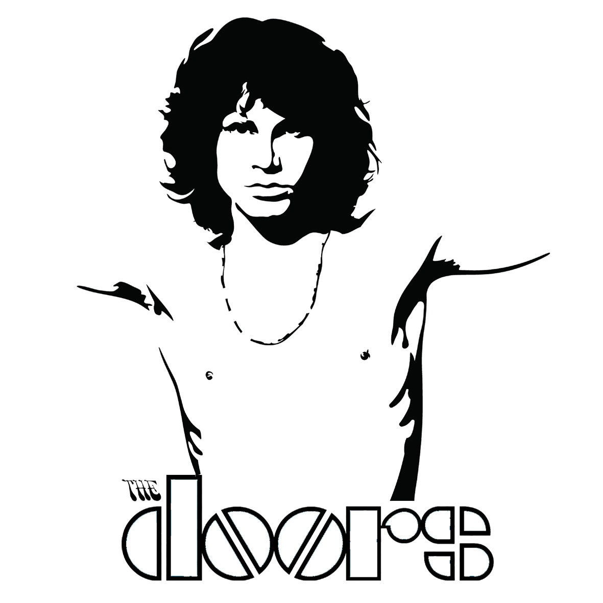 The Doors Jim Morrison Central T Shirts
