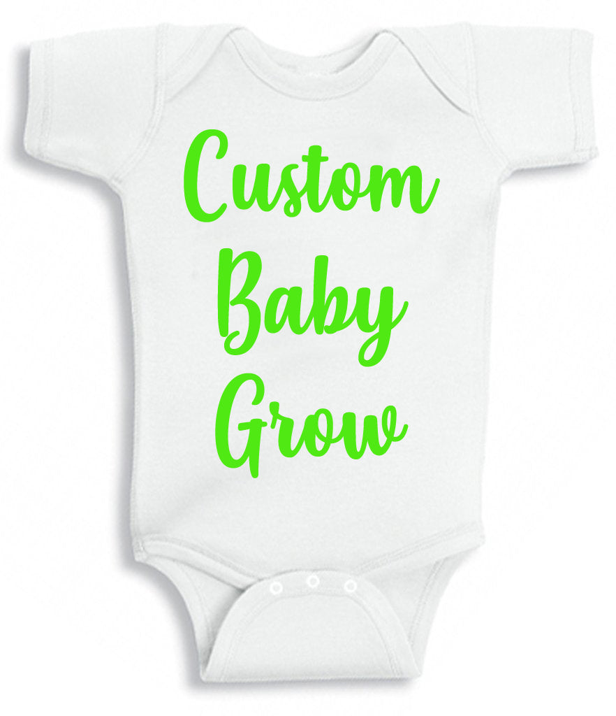 Custom Baby Grows