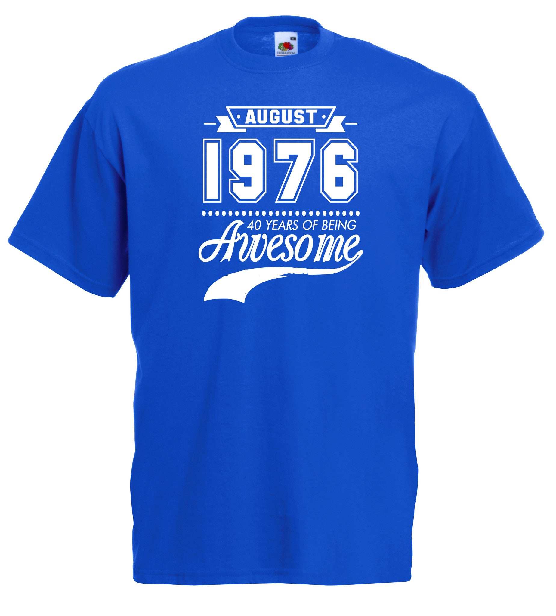 Years of Being Awesome Birthday T-shirt