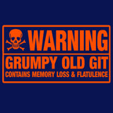 Warning Grumpy Old Git