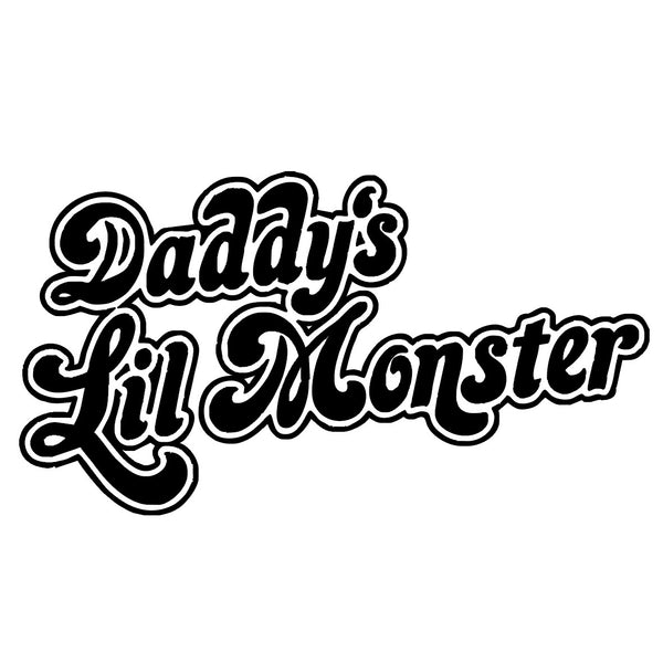 Harley Quinn Daddy Little Monster – CENTRAL T-SHIRTS