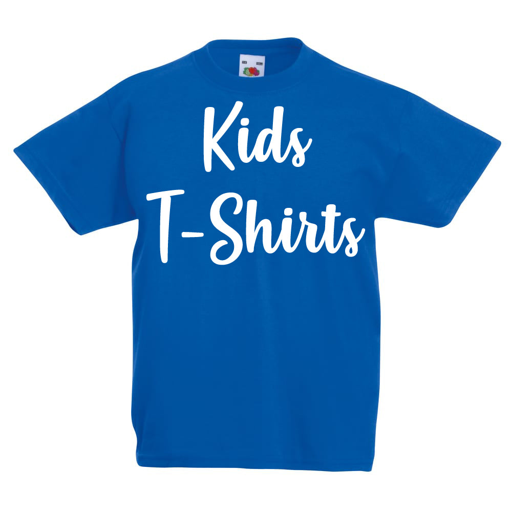 Design Your Own Custom Kids T-Shirt.Upload a photo or design.Pick A Text Color, Tshirt Color & Size.Give a brief explanation of what you want and we will design a beautiful gift for you.