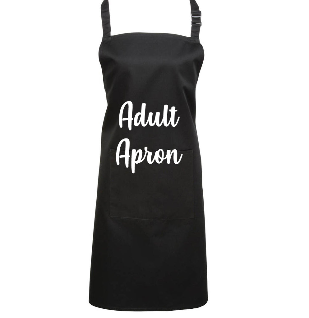Custom Printed  Adult Apron