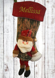 Personalised 3D Christmas Santa