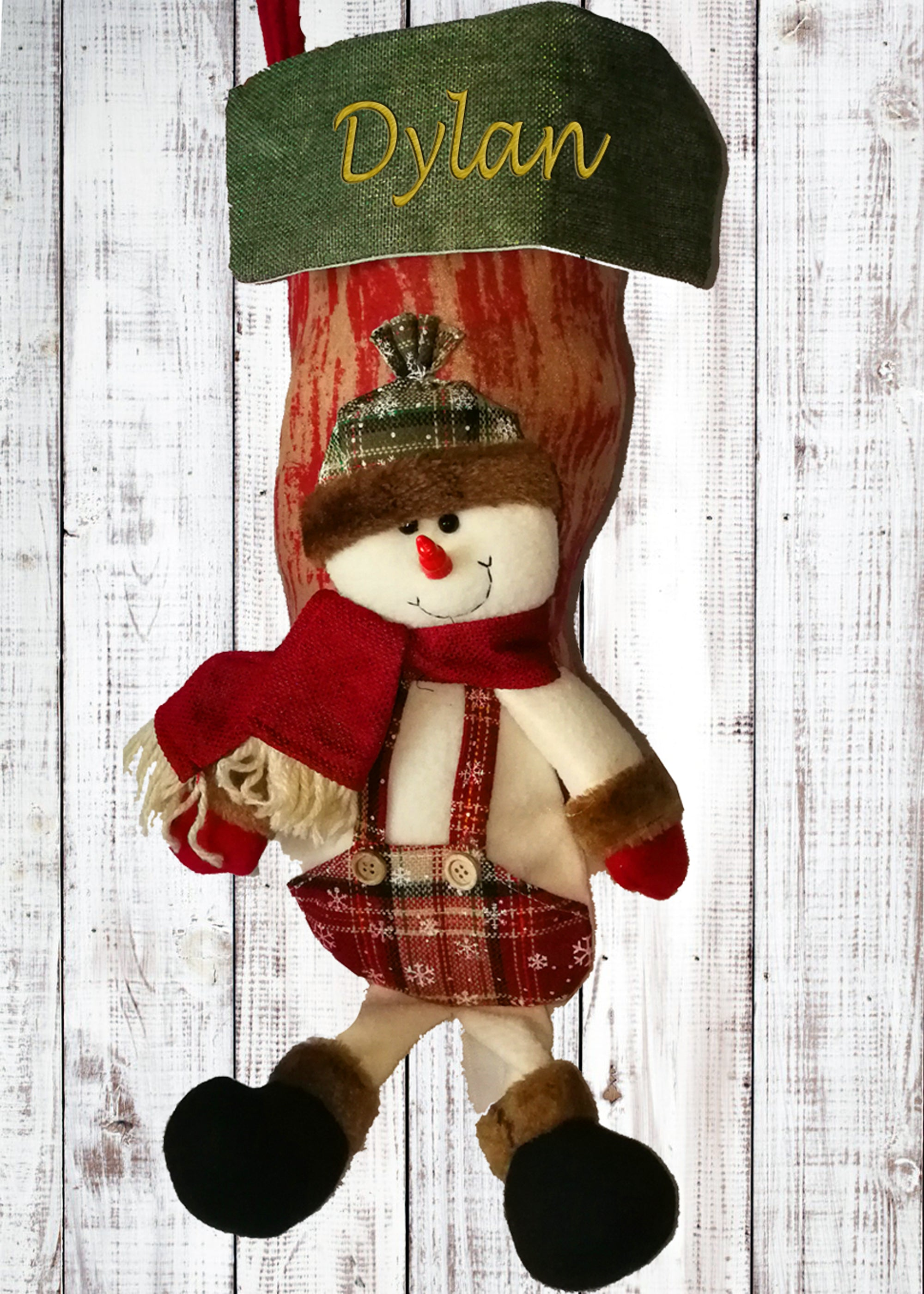 Personalised 3D Christmas Snowman