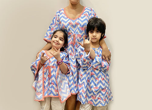 Matching Nightsuits for Family. Shop!
