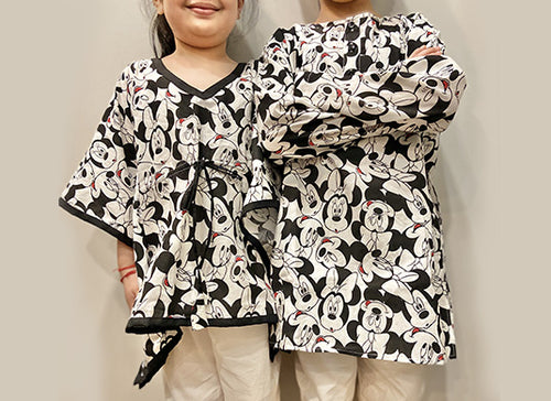 Matching Nightsuits for Siblings. Shop!