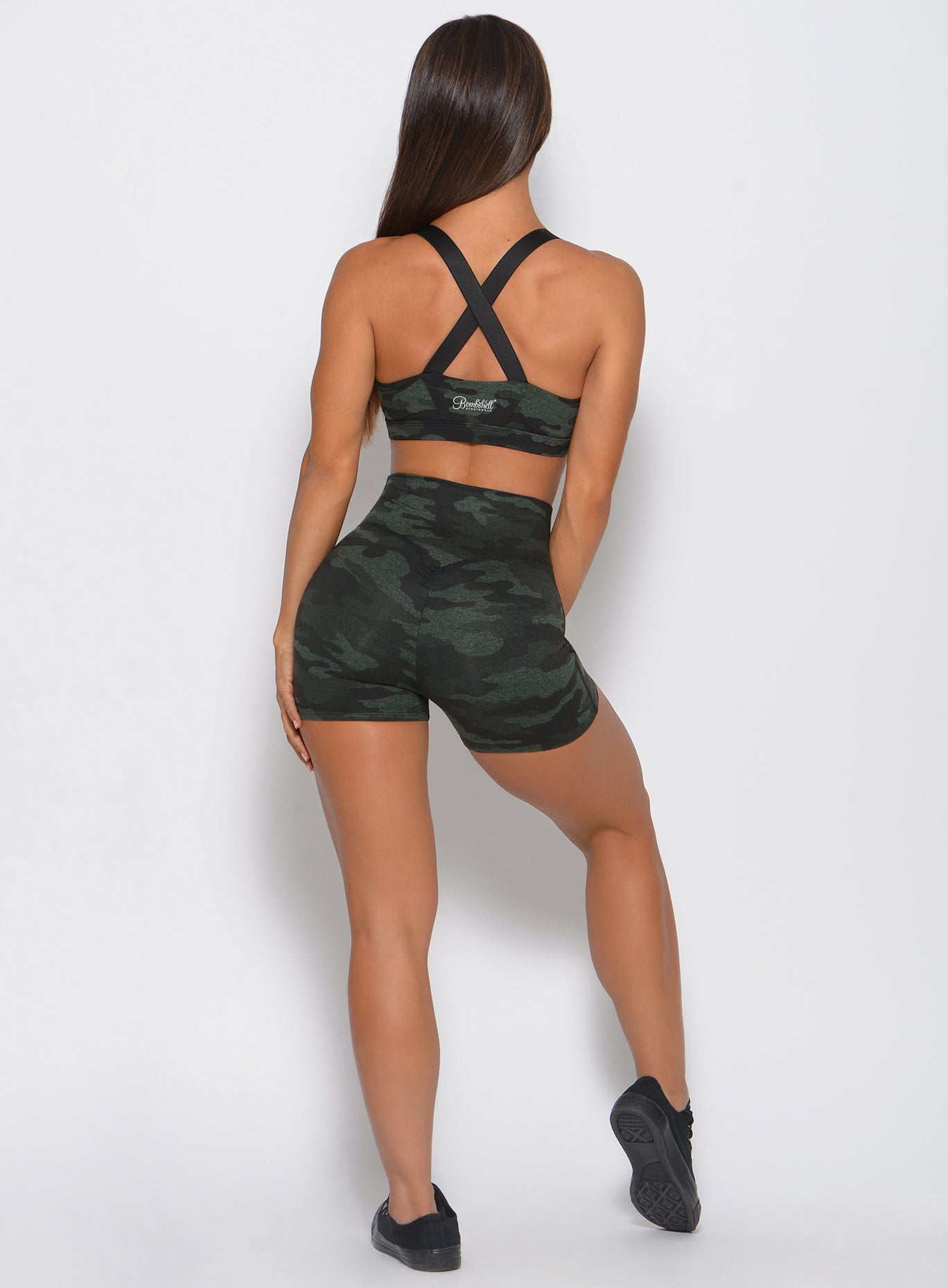 Fit Camo Shorts