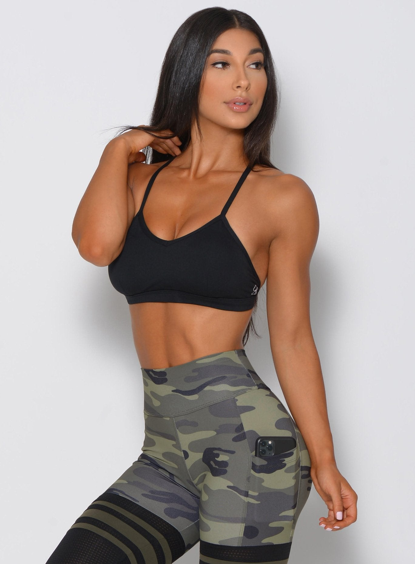 Braid Back Sports Bra