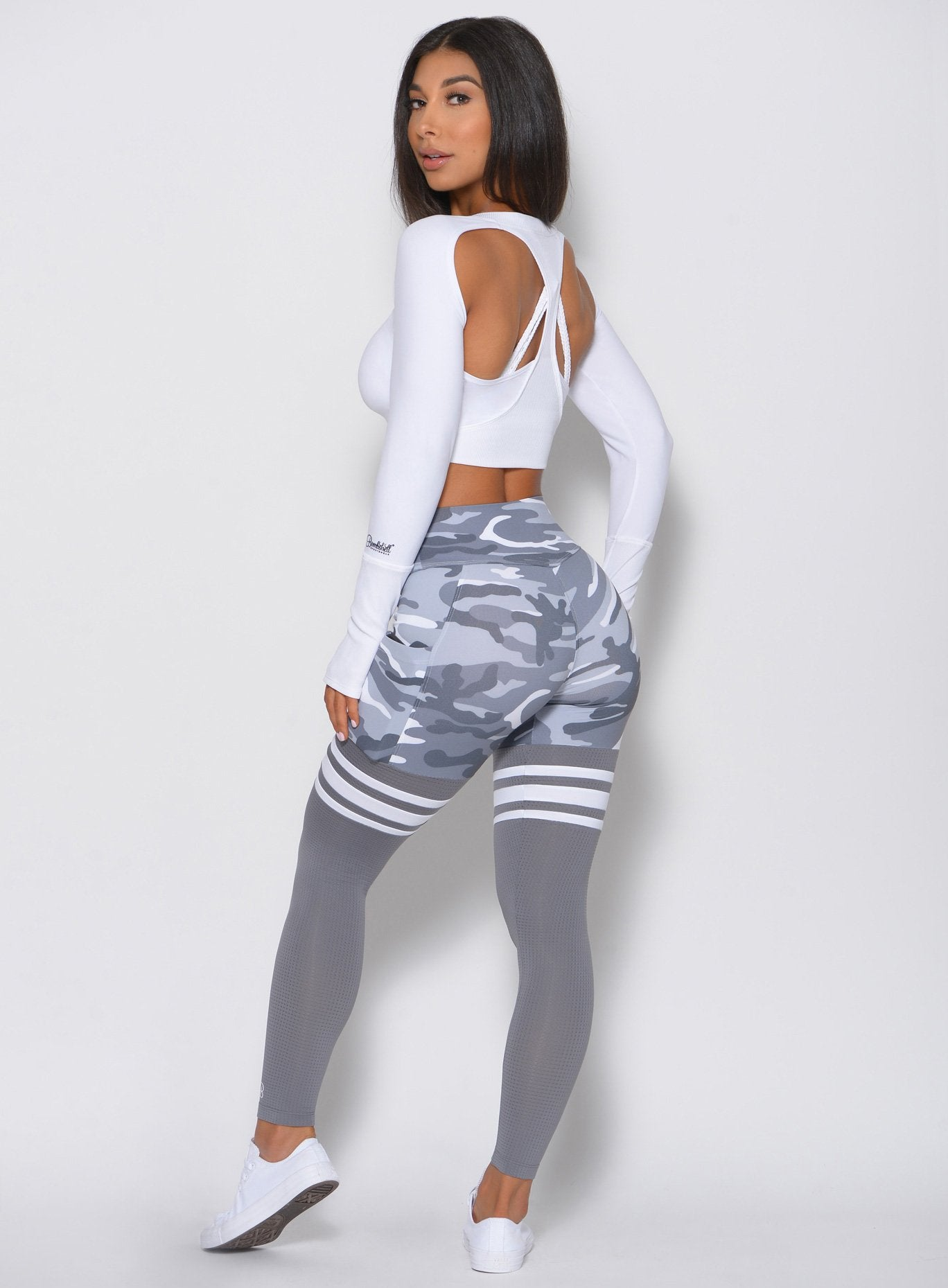 High Waist Thigh-Highs 'Camo'