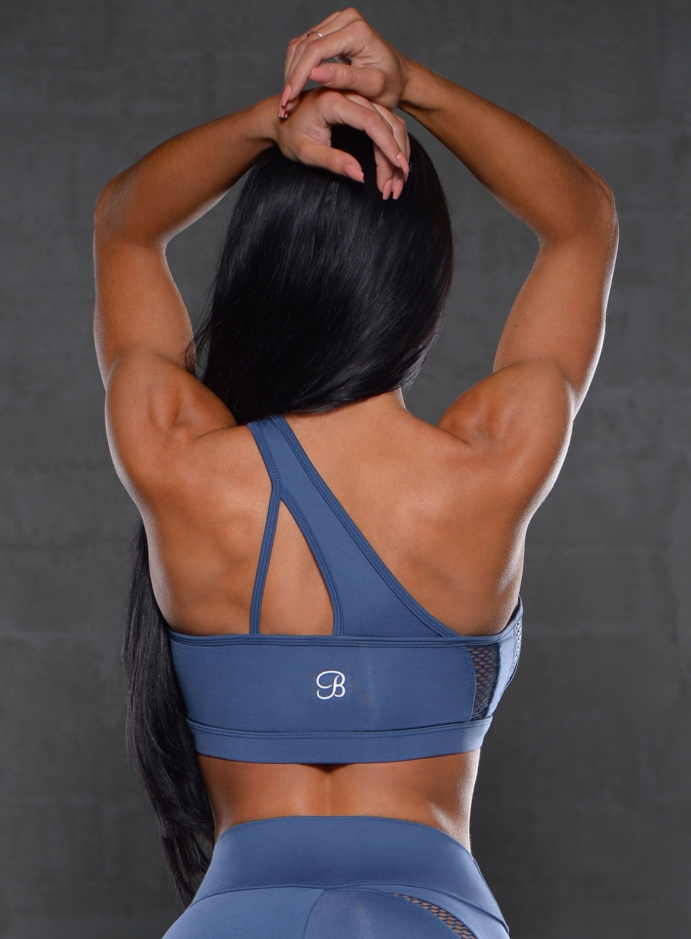Asymmetrical Sports Bra