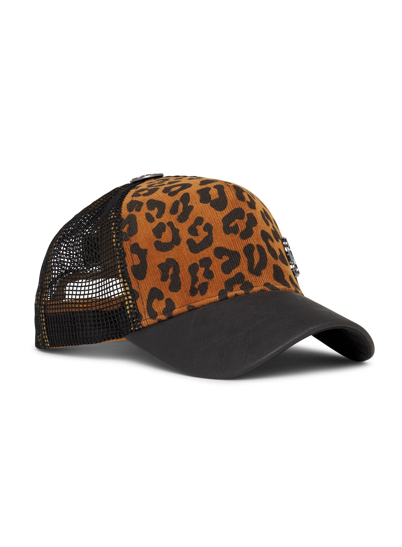 Tan Leopard Hat