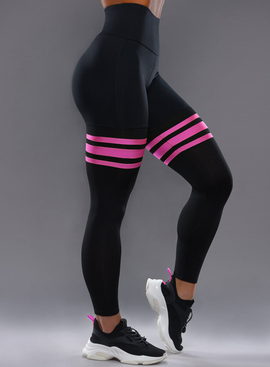 47fef617cf Womens Activewear and Yoga Leggings, Cute Stripe Leggings