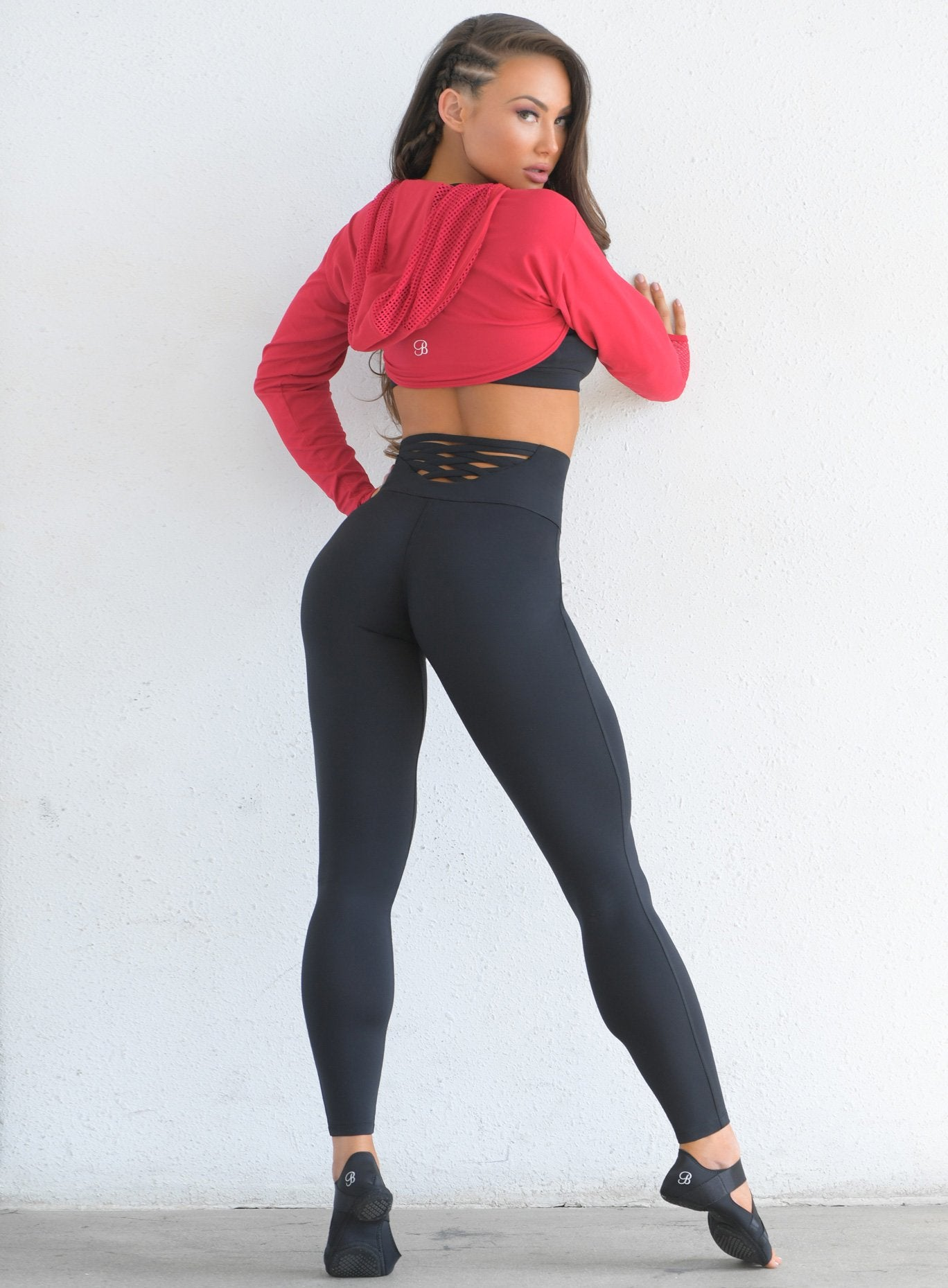 Sexy Back Leggings-6822