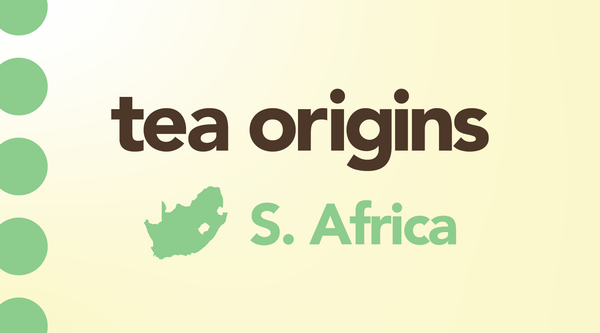 South African Tea:  An Underdog Region Making an Impact with Their Indigenous Teas