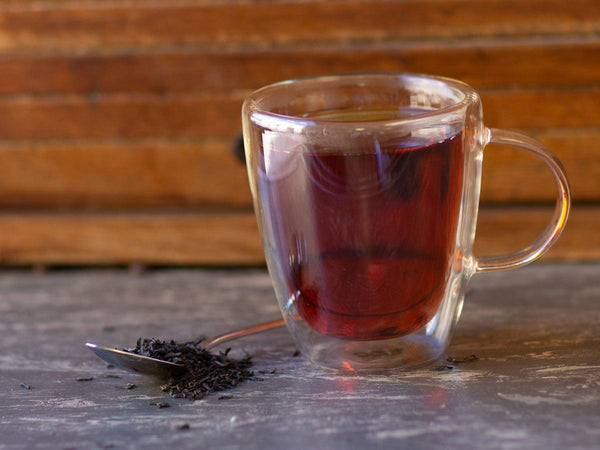 Image of Ceylon Black Tea Brewed as Hot Tea from Hackberry Tea