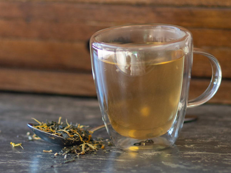 Image of Get Well Now Green Tea Brewed as Hot Tea from Hackberry Tea