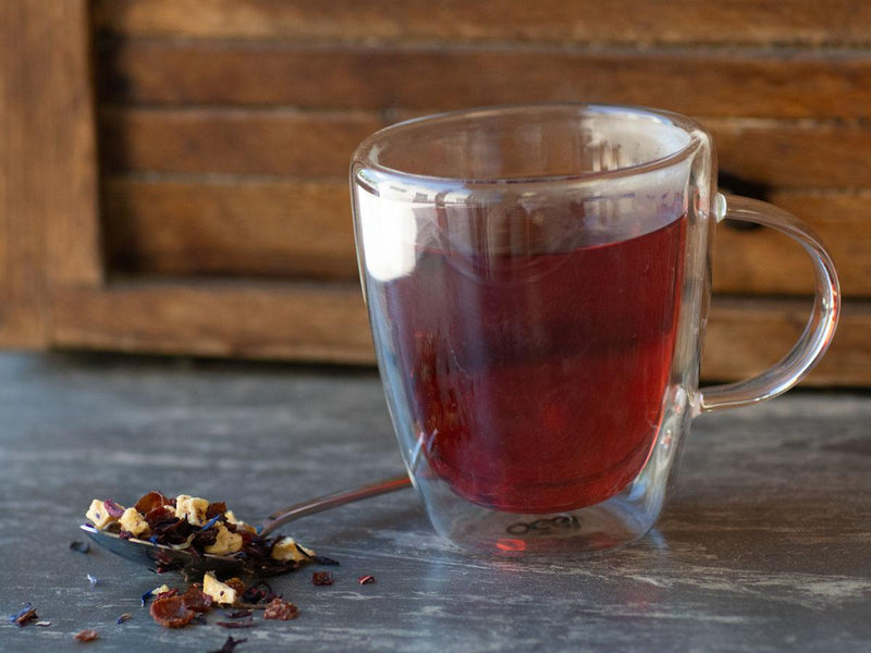 Image of Mixed Berry CrèmeTea Brewed as Hot Tea from Hackberry Tea