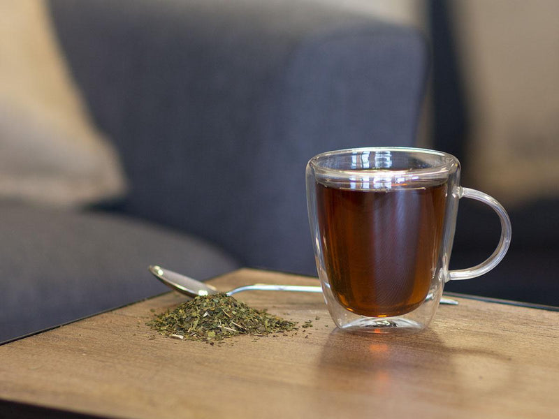 Image of Peppermint Tea Brewed as Hot Tea from Hackberry Tea