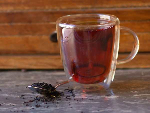 Image of Earl Grey Black Tea Brewed as Hot Tea from Hackberry Tea