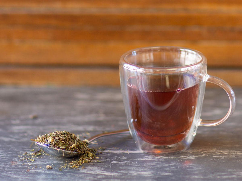 Image of Evening Peace & Quiet Tea Brewed as Hot Tea from Hackberry Tea