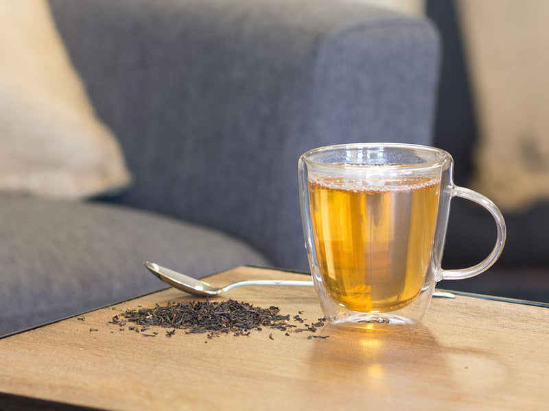 Image of English Breakfast Tea Brewed as Hot Tea from Hackberry Tea