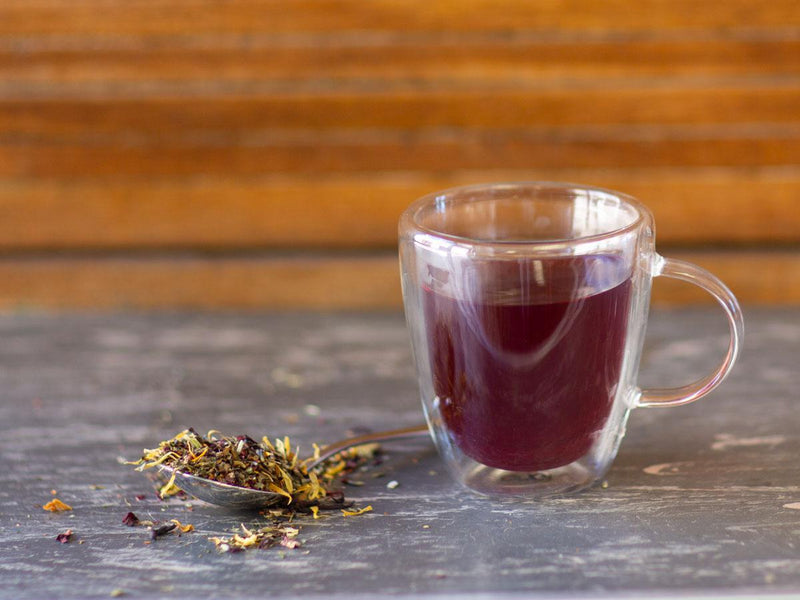 Image of Afternoon Calm Tea Brewed as Hot Tea from Hackberry Tea
