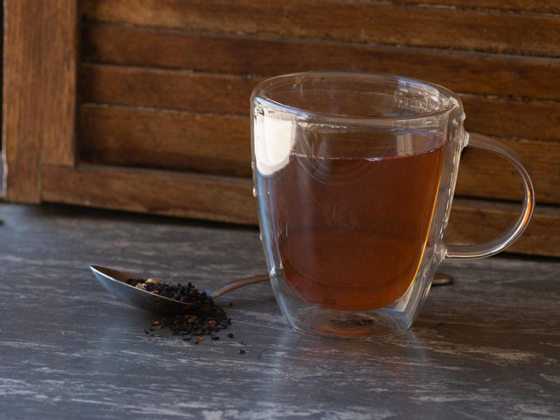 Image of Sugar Pecan Tea Brewed as Hot Tea from Hackberry Tea