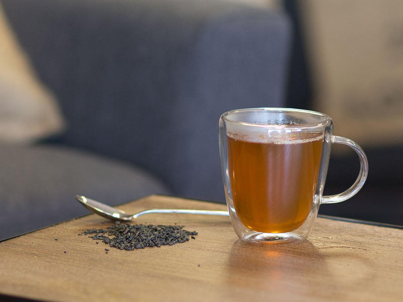Image of Gunpowder Organic Tea Brewed as Hot Tea from Hackberry Tea