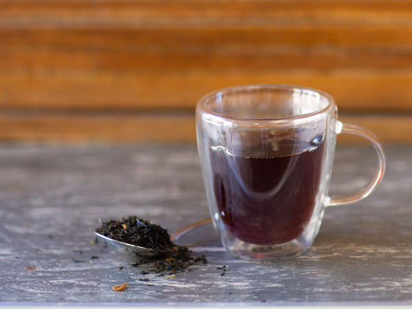 Image of Decaf Earl Grey Tea Brewed as Hot Tea from Hackberry Tea