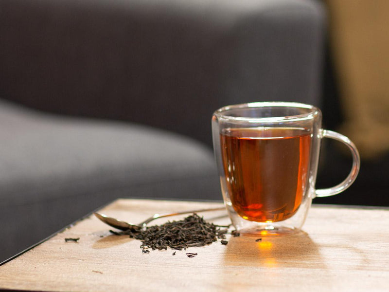 Image of Irish Breakfast Tea Brewed as Hot Tea from Hackberry Tea