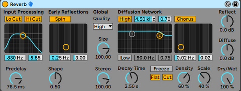Add FX To Vocals_Pre-delay On Reverbs
